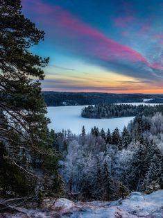 Ice covered Lake...