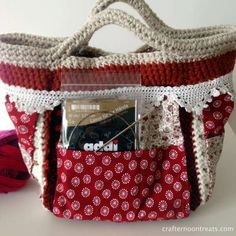 Small bag lining and lace14