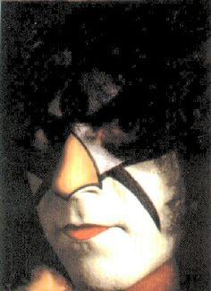 Eric Carr. Rare Hawk makeup