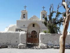 Iglesia de Chiu-Chiu, San Pedro de Atacama, Chile
