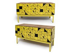 Storage unit by AdriaanHugo (of Dokter & Misses). A Proudly South African product.