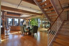 New listing at 626 West Randolph Street #502, CHICAGO, The property has been on the market 66 days and offered at $999900. The home features 2 bedrooms and 2.00 bath. One of a kind dramatic corner PH in boutique River West loft building. 2 bed duplex features dramatic living space w/formal LR/DR, fan room, office & 2-story atrium. Chef's kitchen w/ granite counter tops, Wolf & SubZero appliances, custom marble baths, exposed brick/timber & Lightology fixtures throughout. SW corner offers ...