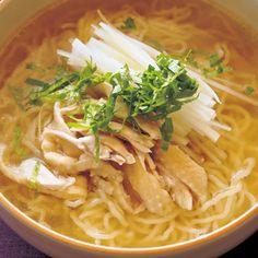 とり中華麺のレシピ