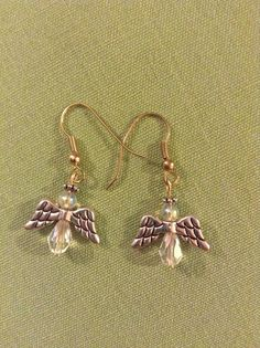 Christmas Angels Earrings - for sale