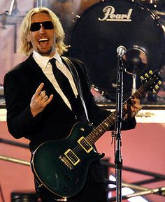 Nickelback . . . here he Rocks