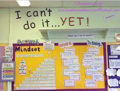 School Displays, Classroom Displays, Classroom Organization, Classroom Management, Growth Mindset Display, Visible Learning, Bulletins, School Classroom, Classroom Ideas