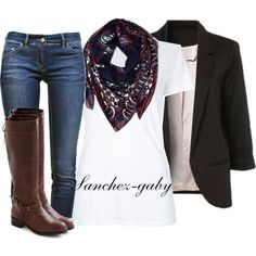 """School Outfit #2"" by sanchez-gaby on Polyvore"