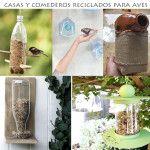 comedero de aves, como hacerlos  http://labioguia.com/casa-de-pajaros-con-botellas-de-plastico/