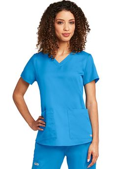 Grey's Anatomy Missy Fit Women's V-Neck #71166.  Cute Top!  New Colors! http://www.nationalscrubs.com/Grey-s-Anatomy-Missy-Fit-Women-s-V-Neck-p/bc71166.htm