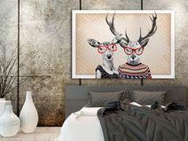 Leinwandbild + LOVE + 120x80 cm
