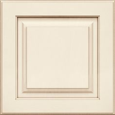 KraftMaid�Montclair Maple Canvas with Cocoa Glaze Square Paint Kitchen Cabinet Sample