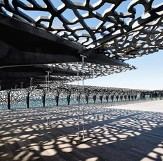 The museum of european and mediterranean civilization (MuCEM) opened in Marseille, France