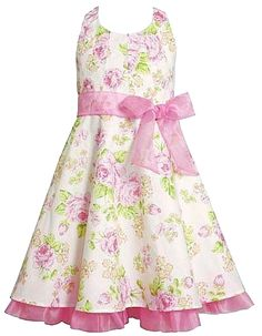 Girls Halter Dress 7-16   Pink Spring Floral Halter Bonnie Jean Dresses   32.99 Matilda 0fd7c91ebd9b