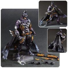 BLOG DOS BRINQUEDOS: Batman Armored Variant Play Arts Kai