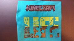 Minecraft Life shirt by BBDsBoutique on Etsy