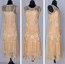 Image result for lace dress 1920