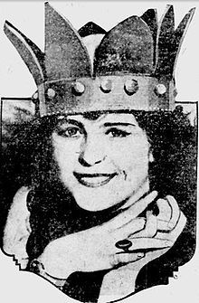 Mary Katherine Campbell, Columbus, Ohio. Miss America TWICE.... 1922 (age 16) and 1923! and first runner up in 1924.