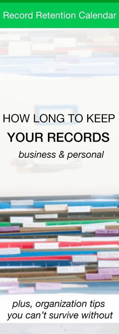 What To Keep In Your Small Business Files From SabrinaS