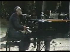 Ray Charles  'Merry Christmas Baby'  - performing at The Monastery Of Ettal in Germany 1979