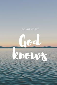 In everything, GOD does NOT even miss a thing! Trust that God always knows what is GOOD and BEST for you...