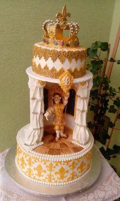 Le roi dance - cake by luhli
