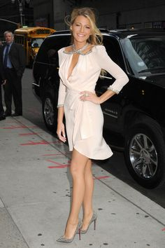 Blake Lively at The Late Show with David Letterman in NYC, June 25th  Gorgeous!