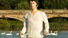 Check out this giant Mr Darcy statue that was unveiled in London's Hyde Park for the launch of new a Drama channel - ITV News Drama Channel, Lyme Park, Drama News, Uk Tv, Mr Darcy, Colin Firth, Beautiful Sites, Jane Austen, Hyde