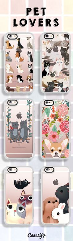 For you #PetLovers - https://www.casetify.com/artworks/upHR4W8QbS
