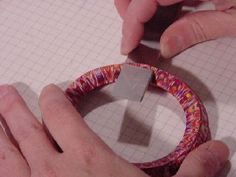 How-to tutorial - Making an easy clay bracelet
