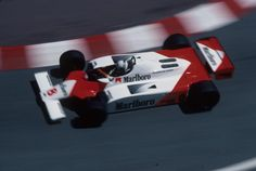 Andrea de Cesaris, McLaren MP4/1 - Ford-Cosworth DFV 3.0 V8 (Monaco 1981)
