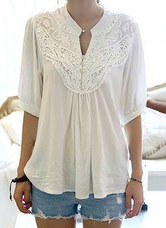 Nieuwste modetrends in Women's Overhemd. Winkel online voor modieuze dames Overhemd in Floryday - uw favoriete mode online winkel.