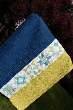 Tutorial on matching your binding to your quilt top. From A Quilter's Table: About that Binding
