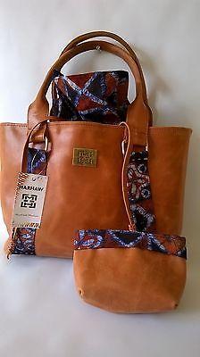 'Marhaw' African Handmade Designer Leather Bag