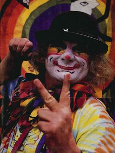 Wavy Gravy, psychedelic prankster, activist and, of course, clown, was born May 15, 1936 (as Hugh Romney). Today he turns 76-years-old.