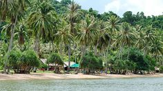 Rabbit Island, Cambodia A 30-minute boat trip will take you from Cambodia's coastal city Kep to Rabbit Island. Just a little over 1 square mile in area, this tiny gem in the Gulf of Thailand has 2 unspoiled beaches ideal for swimming and getting away from the chaos of mainland Cambodia.