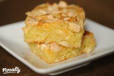 Szőke brownie (Blondie) | Nosalty Blondie Brownies, Brownie Bar, Blondies, Cornbread, Oreo, Yummy Food, Vegan, Baking, Bakken