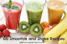 100+ Smoothie Recipes, including Body By Vi Shake Recipes!