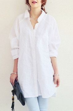 Fashion Luxury Linen/Cotton Shirts Long Sleeves Blouse. Do you like it? Find it here: https://ecolo-luca.com/collections/tshirt/products/fashion-luxury-linen-cotton-shirts-long-sleeves-blouse