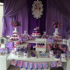 Disney Violetta Inspired Birthday Party