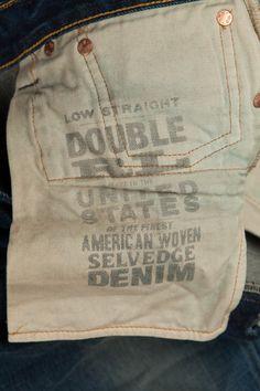 rrl low straight jeans 13.5 ounce portland wash Casual Jeans, Jeans Style, Edwin Jeans, Japanese Denim, Denim Trends, Denim Branding, Raw Denim, Denim Fabric, Vintage Denim