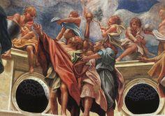Correggio - Assumption of the Virgin (detail) - WGA05314 - Correggio (pittore) - Wikipedia