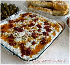 İdeen Easy Cake Salad with red lentil butter - salad recipes, salads, appetizers, . Appetizer Salads, Appetizers, Mezze, Salad Dishes, Good Food, Yummy Food, Turkish Recipes, Easy Salads, C'est Bon