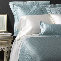 Matouk Ava Quilts.  Another pretty option for your Master Bedroom.  Comes in various colors.