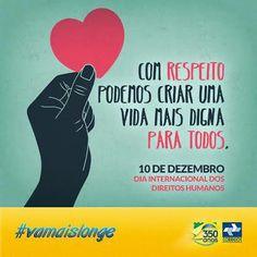 O Fórum Mundial dos Direitos Humanos acontece de hoje até o dia 13 de dezembro, no Centro de Convenções de Brasília. O evento tem como objetivo debater assuntos relacionados ao respeito às diferenças, redução das desigualdades e no combate a todas as violações dos direitos humanos no Brasil. Os Correios apoiam esta iniciativa