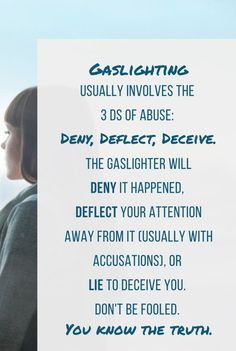 What is Gaslighting? (and 5 Tips to Deal With It) — Stop Emotional Abuse What Is Gaslighting, Gaslighting Signs, Dysfunctional Relationships, Toxic Relationships, Relationship Advice, Narcissistic People, Narcissistic Behavior, Positive Thoughts, Positive Vibes