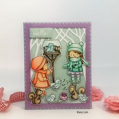 Created with stamps by Hello Bluebird Blue Bird, Stamps, My Style, Cards, Handmade, Seals, Hand Made, Maps, Postage Stamps