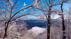 Vue imprenable sur le Lac Gale. Réseau de sentiers du Lac Gale. Bromont, Tourism, Snow, Canada, Outdoor, Pathways, Turismo, Outdoors, Outdoor Living