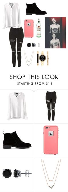 """""""With Alan"""" by kathrynclifford on Polyvore featuring Topshop, Lucky Brand, BERRICLE, Michael Kors, Style & Co., women's clothing, women's fashion, women, female and woman"""