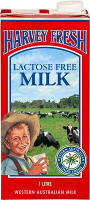 Harvey Fresh Lactose Free Milk Long Life 1L