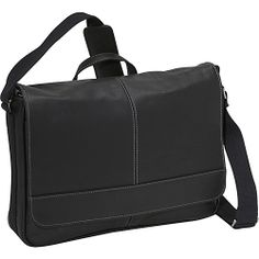 #KennethColeReaction, #MessengerBags - Kenneth Cole Reaction Columbian Leather Messenger Bag